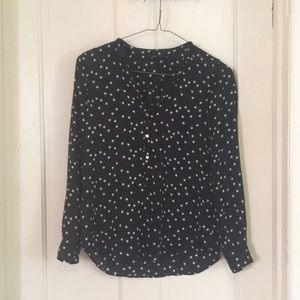 Starry long sleeve dress shirt
